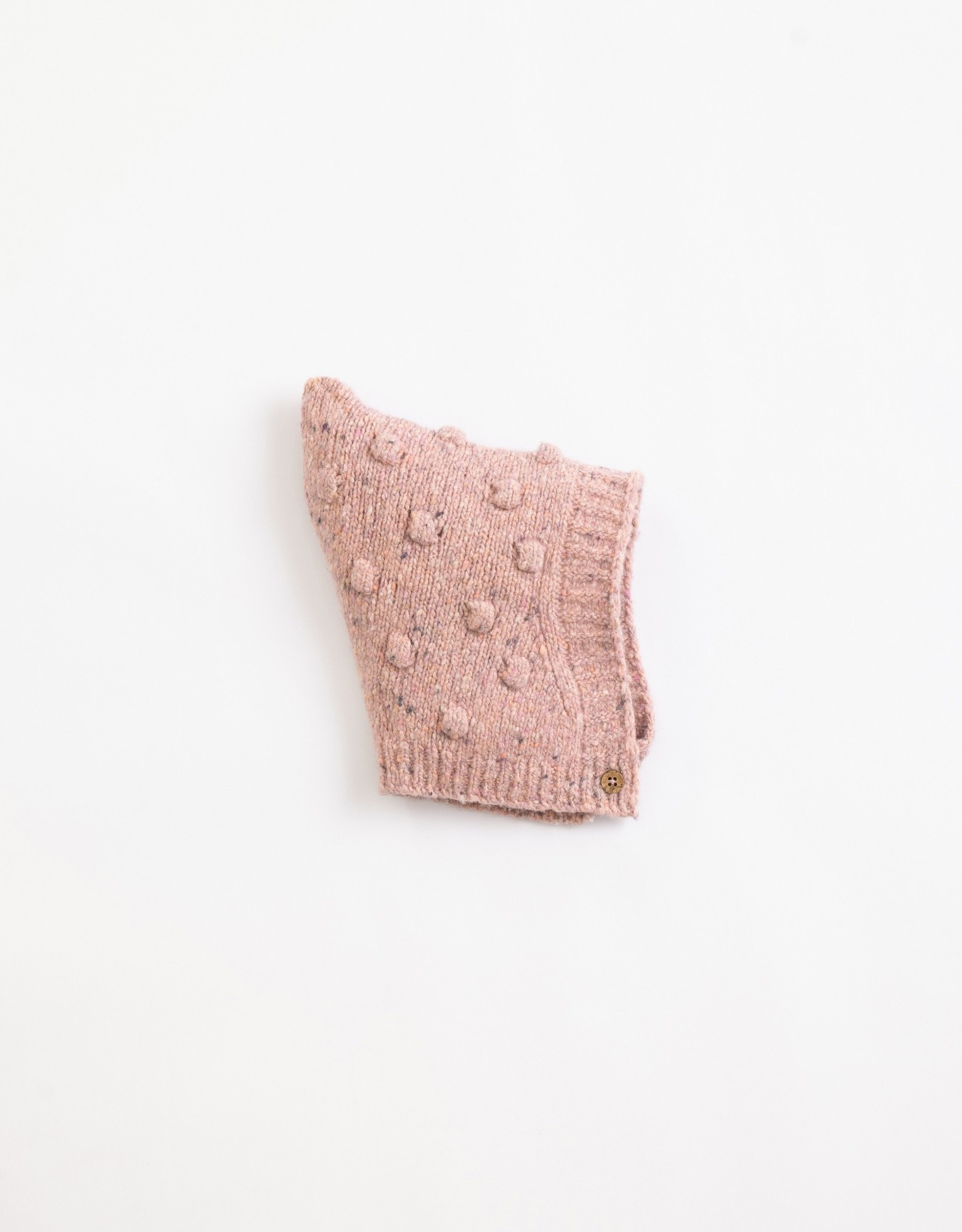 Play Up Play Up knitted mutsje Cor de rosa
