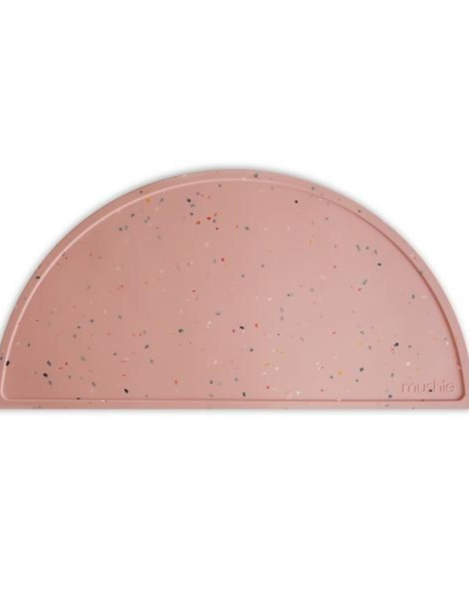 Mushie Mushie placemat Confetti pink powder