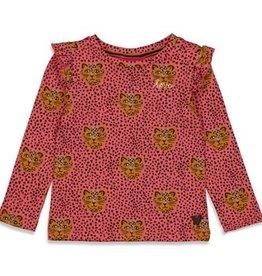 Jubel Jubel Longsleeve Shirt met tijgers roze