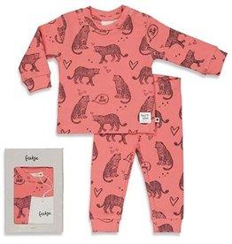 Feetje Feetje PREMIUM pyjama roarr roze