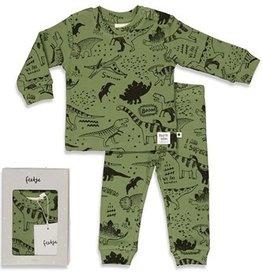 Feetje Feetje PREMIUM pyjama dino army