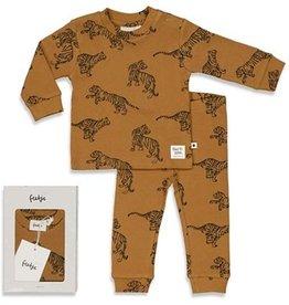 Feetje Feetje PREMIUM pyjama Tiger camel