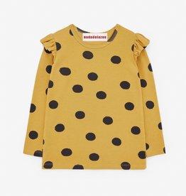 Nadadelazos Nadadelazos  T-shirt dots yellow & black