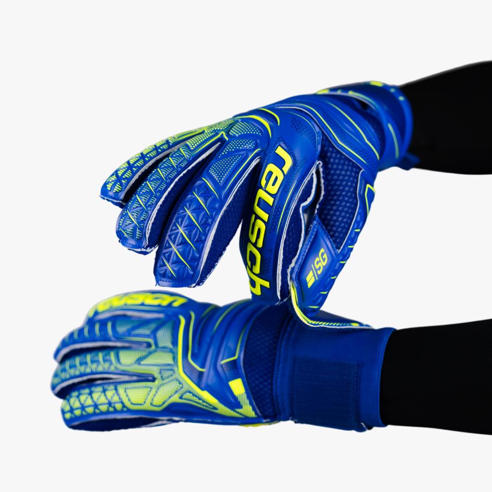 Reusch Attrakt SG Extra Finger Support - Platte vinger