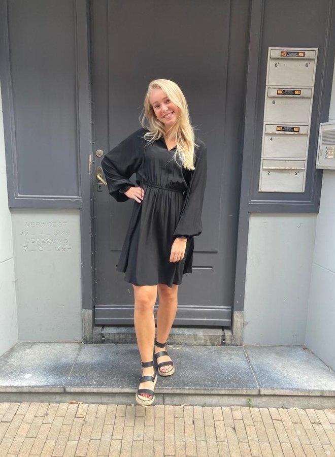 SF vienna short dress black