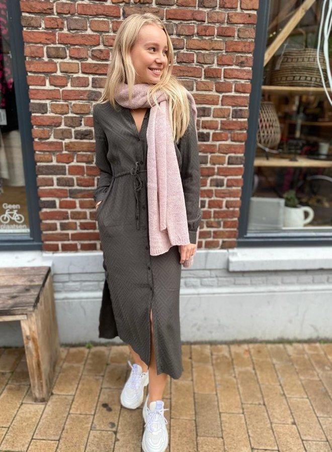 Zusss hippe jurk grijs
