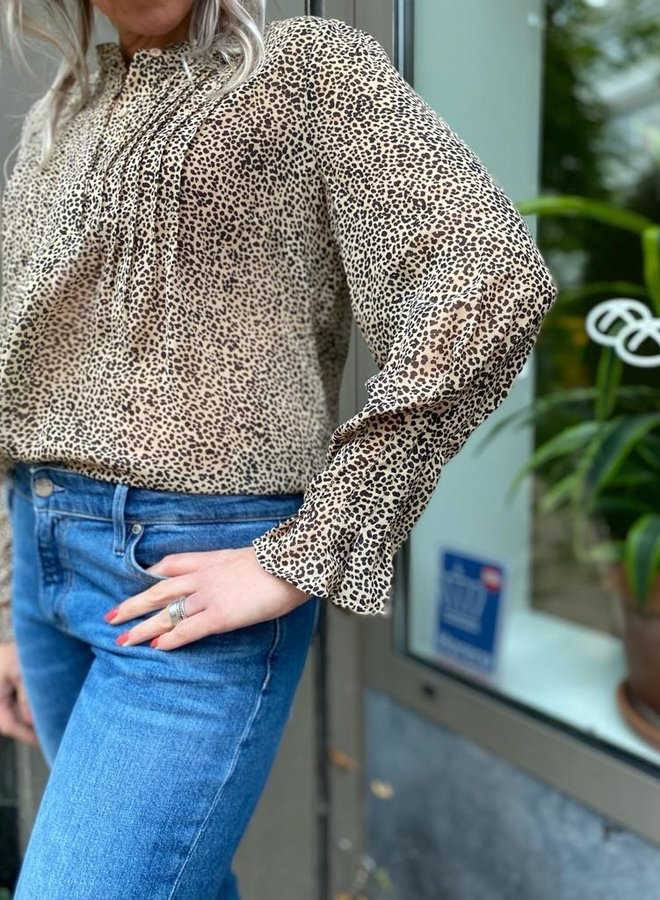 SF W20F ivia blouse tannin