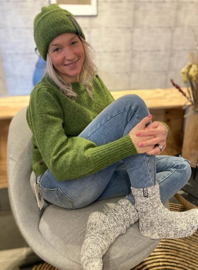 SF W20F linna knit beanie