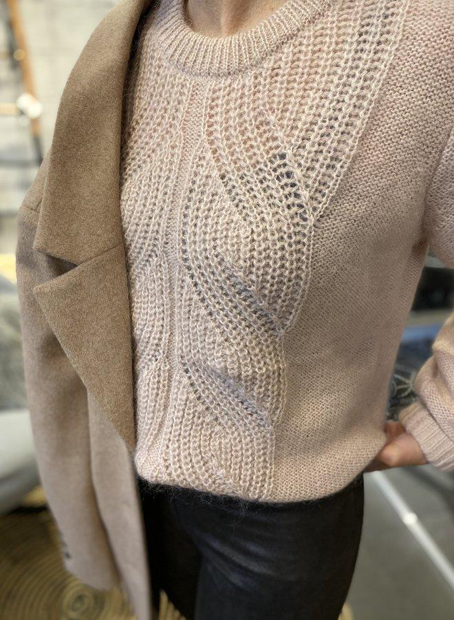 Les Favorites W20 babs knit sweat pink