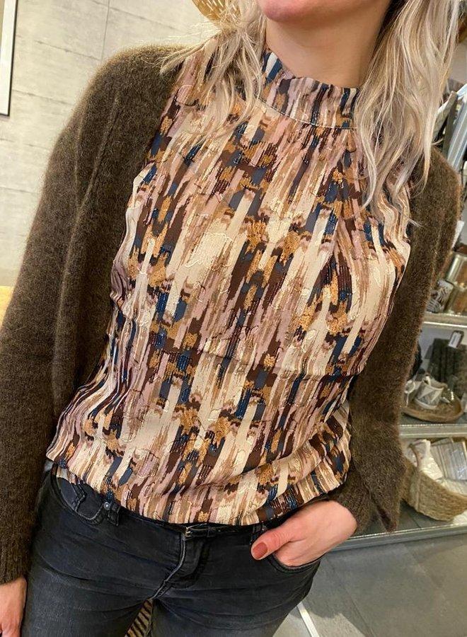 Knit-ted W20 blair cardigan brown