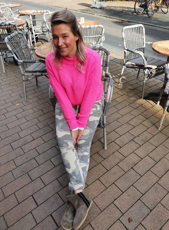 10DAYS W20F soft sweater pink