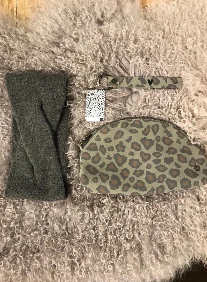 Zusss make up tas leopard