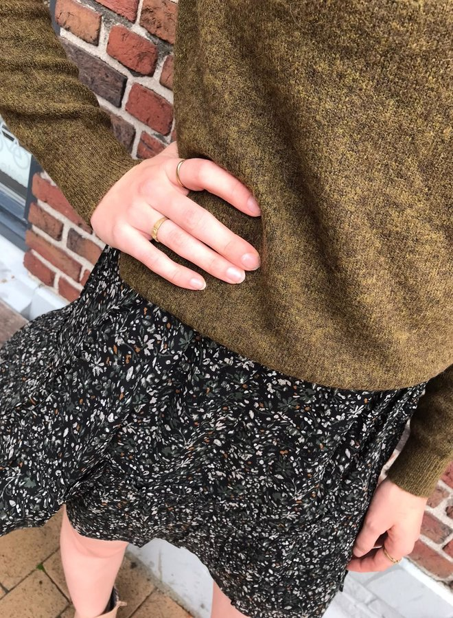 Circle W20F kate skirt black forest