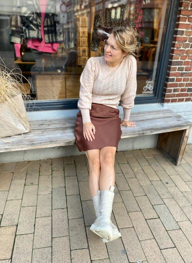Second Female W20 eddy skirt brown
