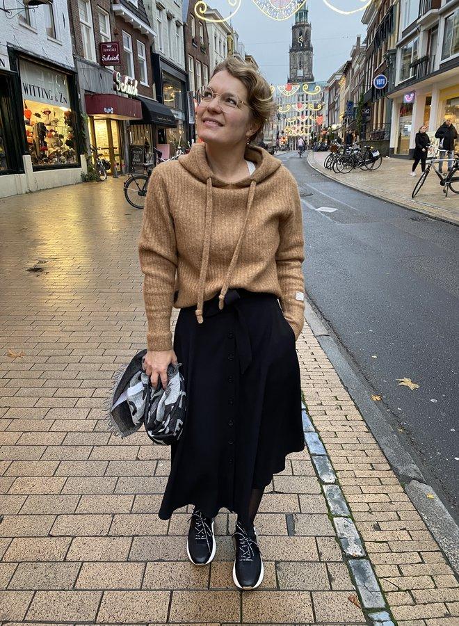 10DAYS W204 soft hoodie sweater caramel