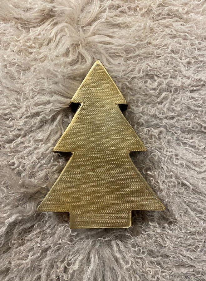 Metal Christmas tree Gold