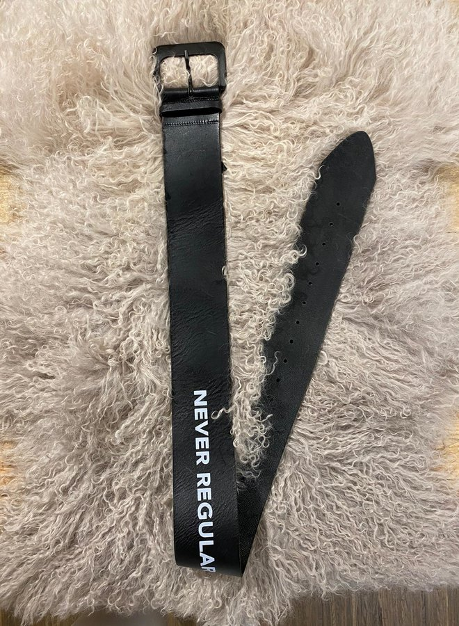 10DAYS W201 big leather belt