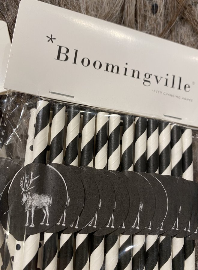 Bloomingville rietjes kerst