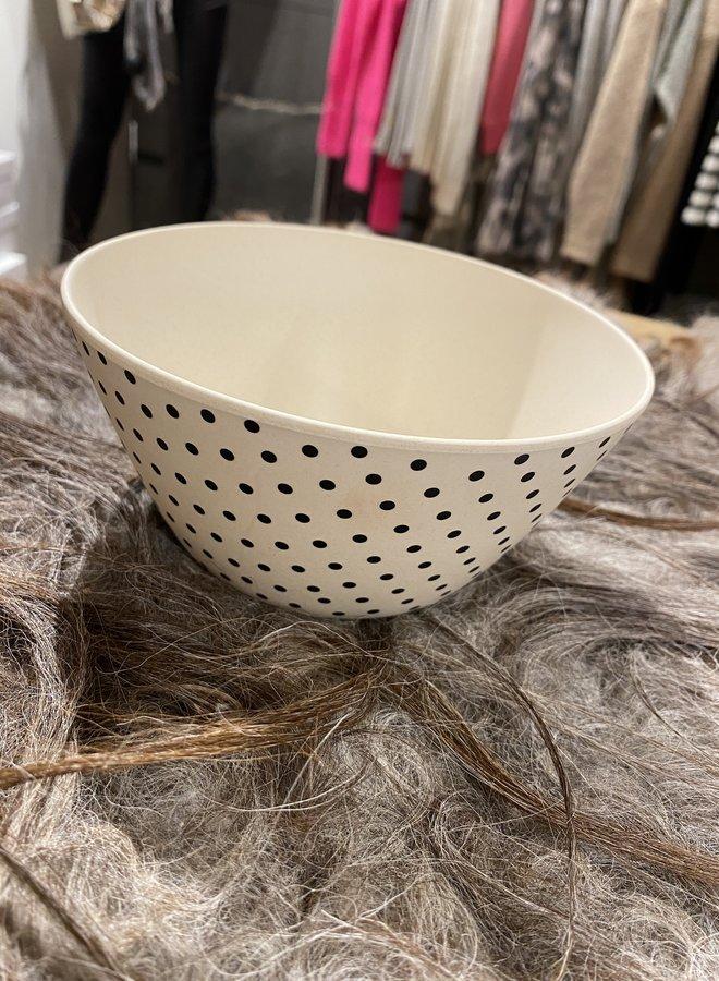 Bloomingville bowl bamboo dot