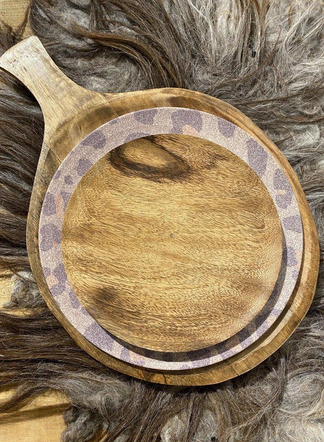 Madam Stoltz wooden plate