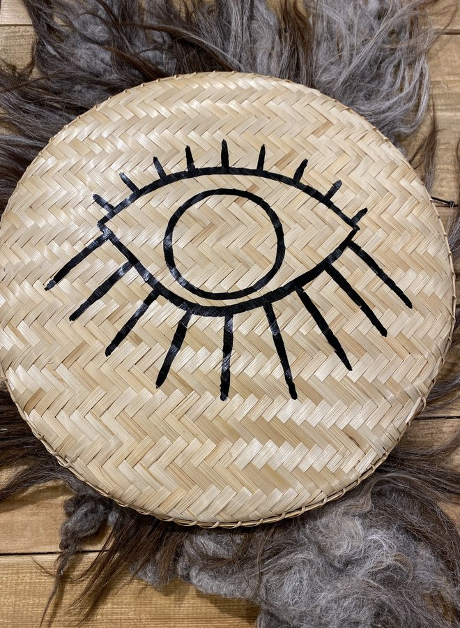 Madam Stoltz bamboo tray eye