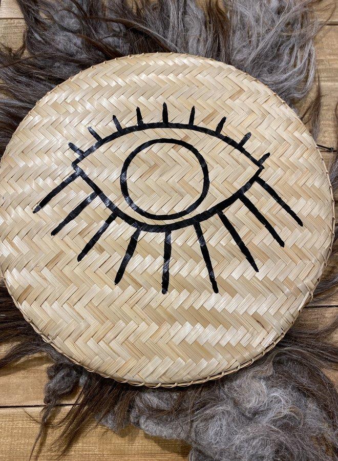Madam Stoltz S20 bamboo tray eye