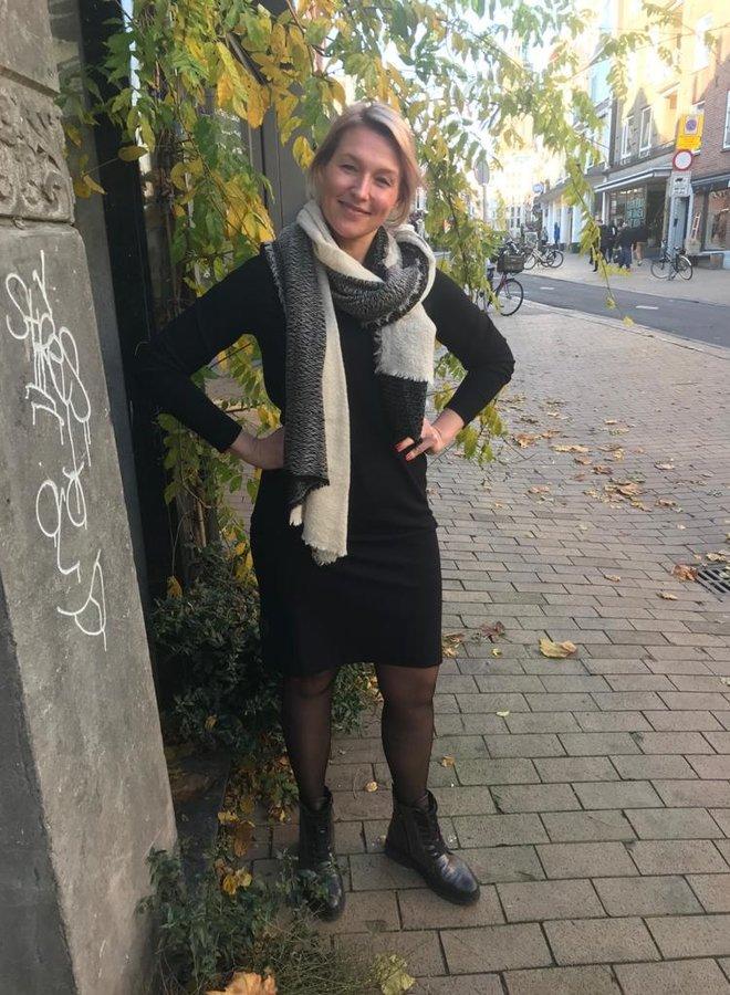 BY BAR W20 jo punta dress black