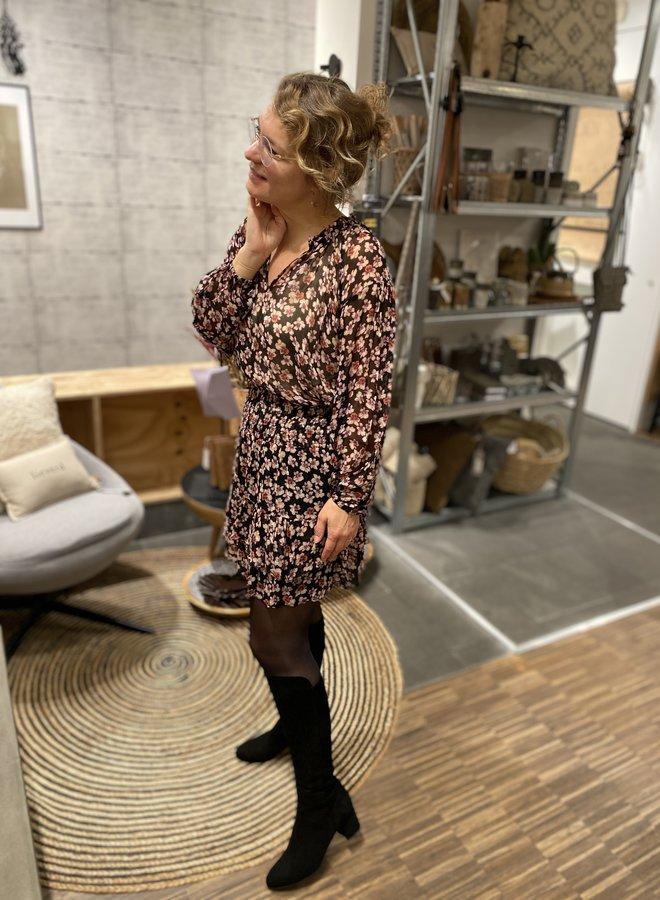 Second Female W20F fleurir skirt black