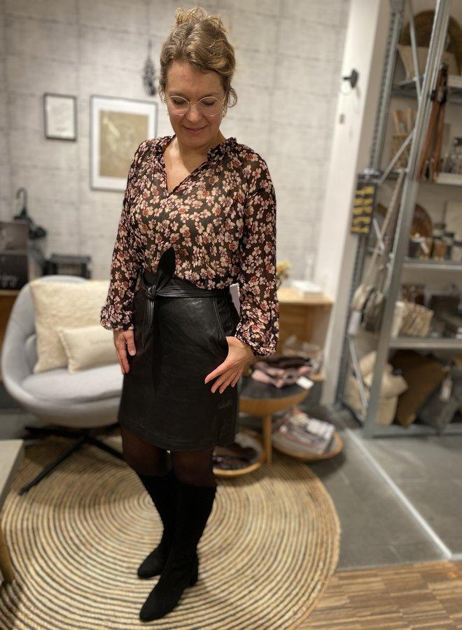 Second Female W20F fleurir blouse black