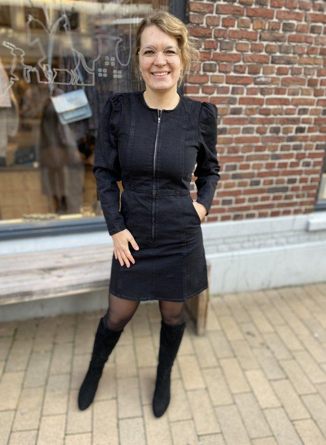 Second Female anne dress black