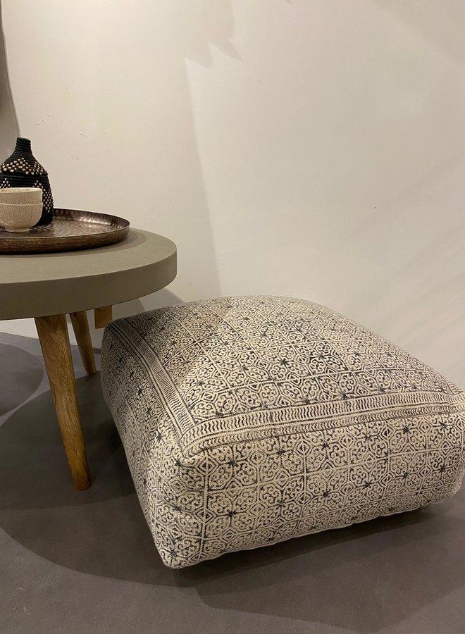 Bloomingville floor cushion poef 60x60cm