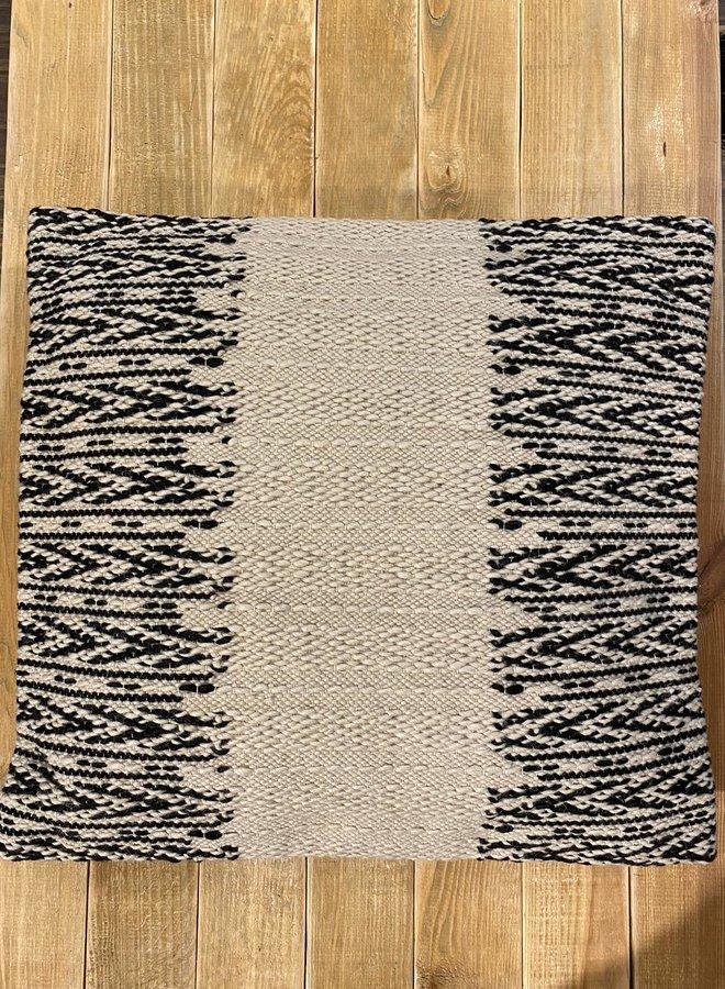 Bloomingville cushion nature wool