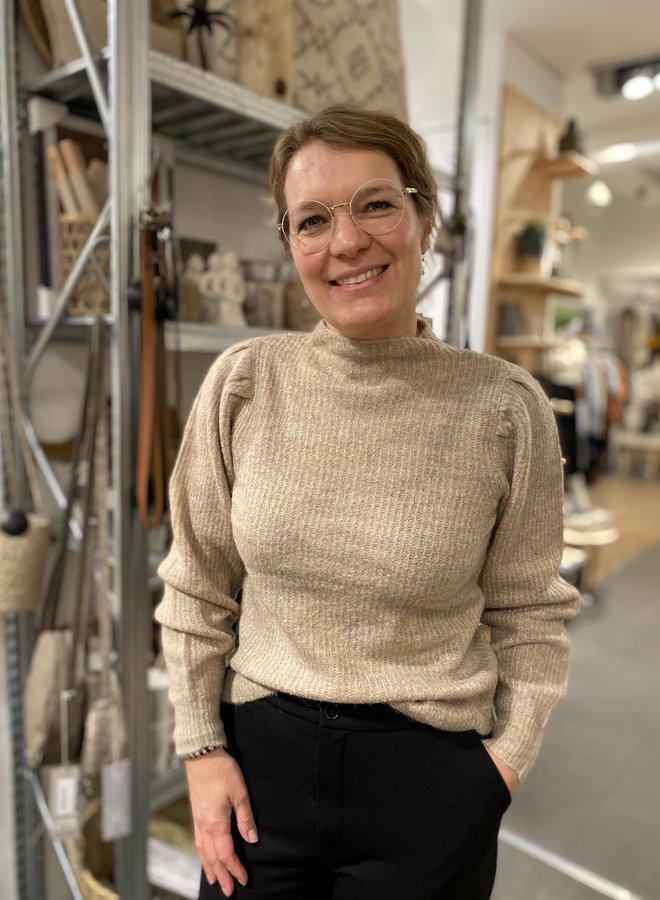 SF lipa knit sandshell