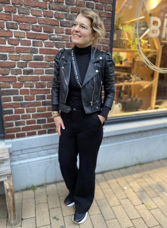 Dante6 jae leather jacket black