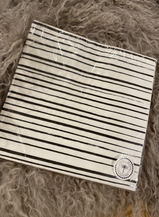 Nordal servet stripe