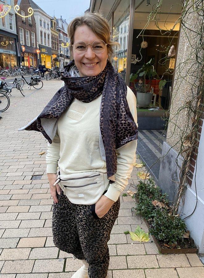 10days scarf leopard camo