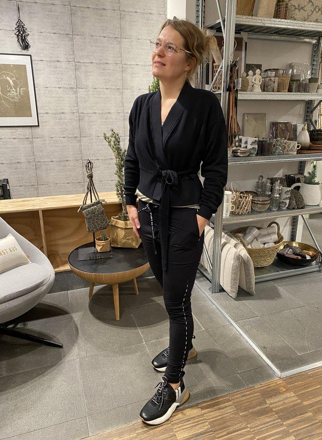 10days kimono cardigan black
