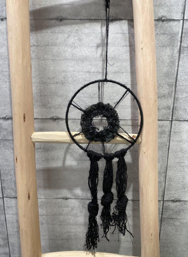 Madam Stoltz wandhanger black