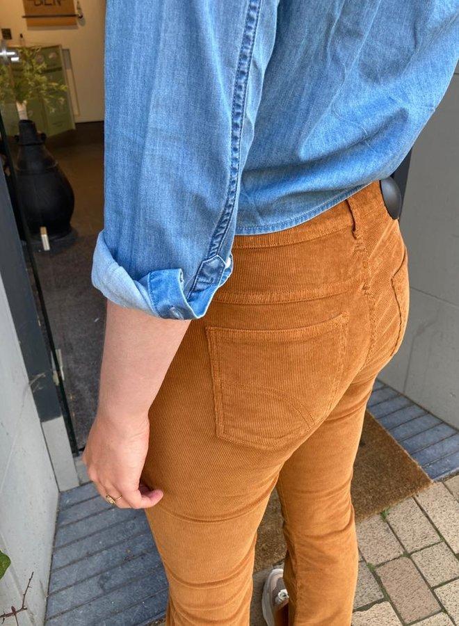 Denham denim blouse
