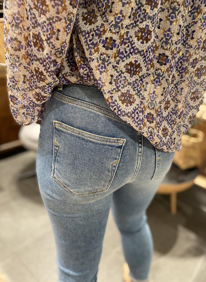 SF sophia skinny jeans mid blue
