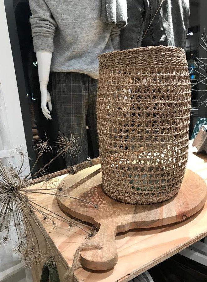 Bloomingville basket seagrass groot