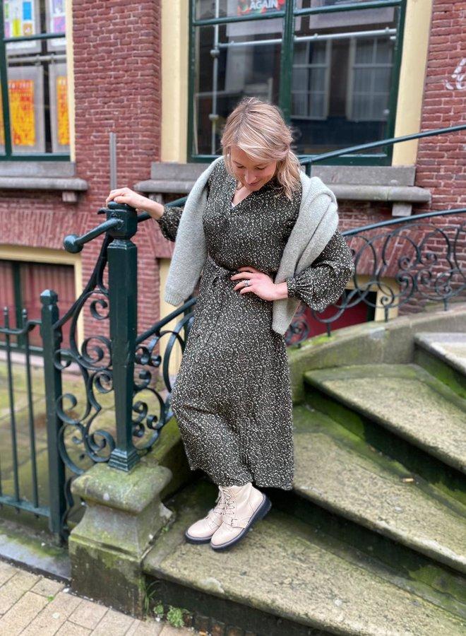 SF metha dress winter moss