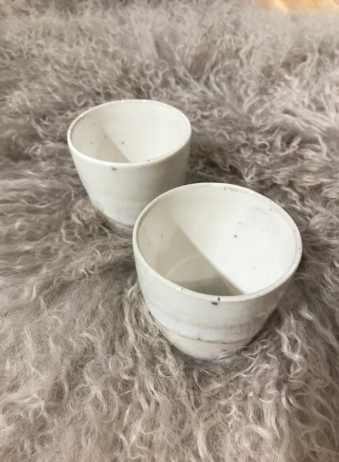 Bloomingville W20F heather cup white