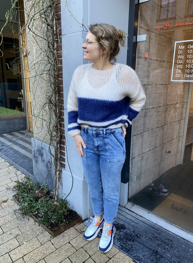 By Bar evi pullover blue