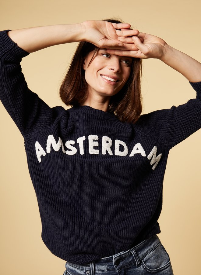 10days sweater amsterdam blue