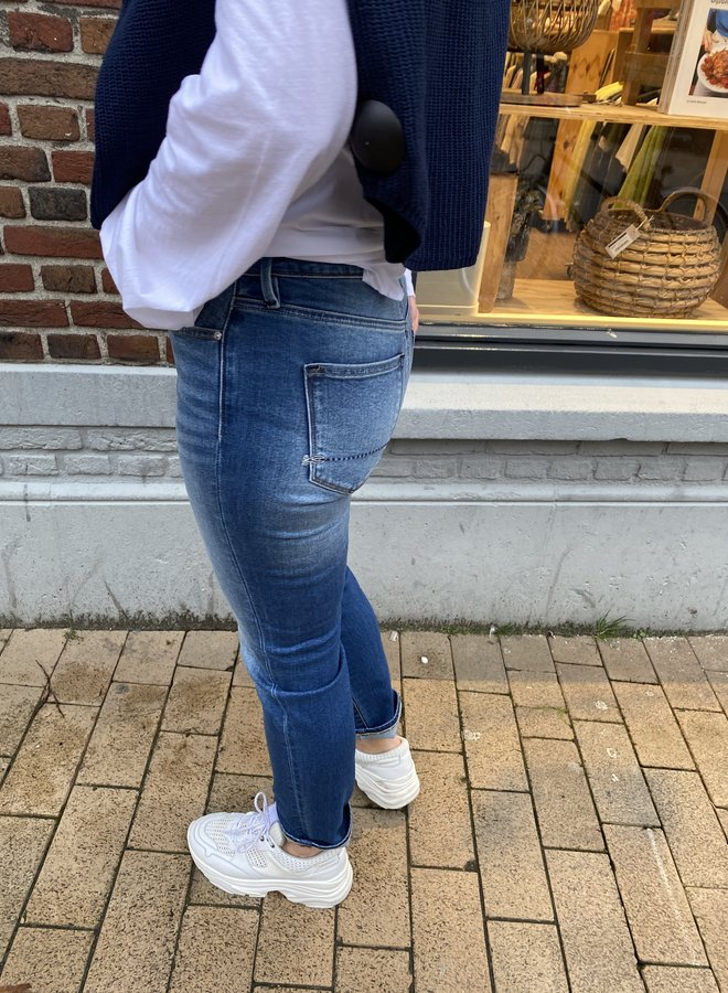 Denham jolie highwaist mom jeans blue