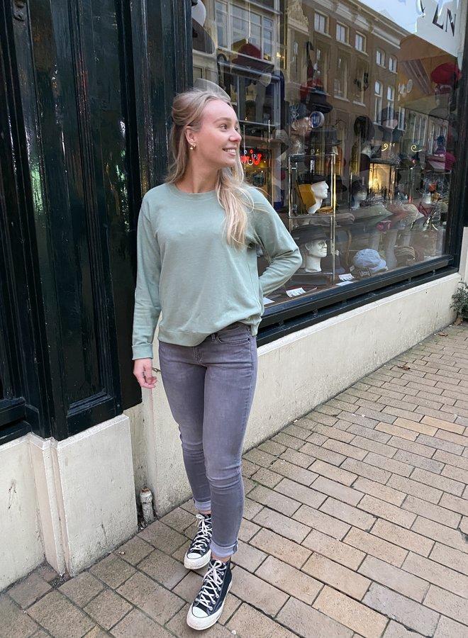 Denham showa knit green