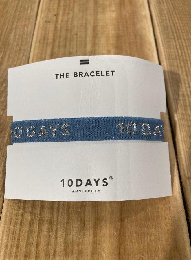 10days bracelet grey blue