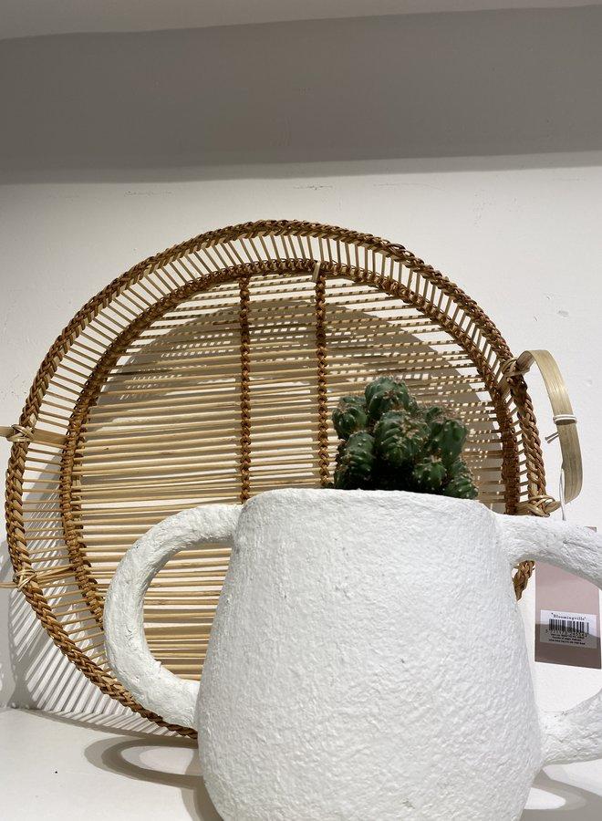 Bloomingville bamboo dienblad dia 35