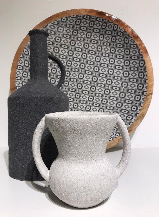 Nordal eldey pot handles white